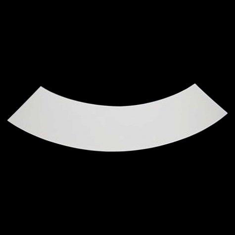 Accessoire pour abat-jour - découpe polyphane blanc 30/100 - D25
