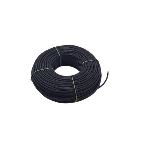 Accessoire pour abat-jour - Cordon électrique textile noir - Vendu au mètre