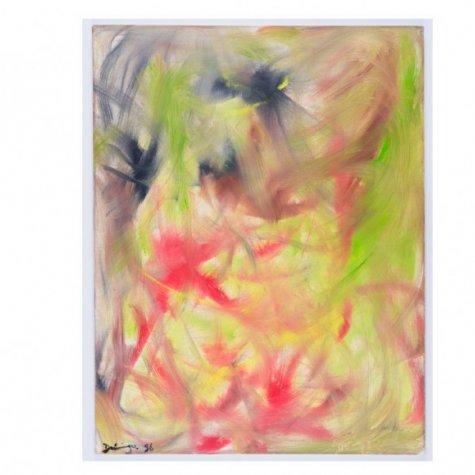 Lithographie original signée et numérotée - Visage caché - 60x54 cm