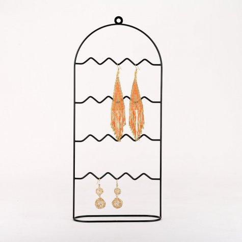 """Porte bijoux  en métal - """"Cage à oiseaux"""""""